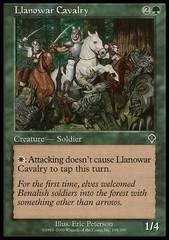 Llanowar Cavalry - Foil
