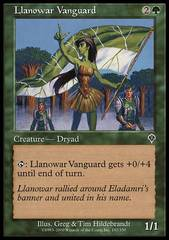 Llanowar Vanguard - Foil