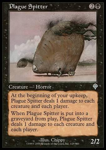Plague Spitter - Foil