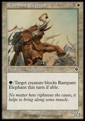 Rampant Elephant - Foil
