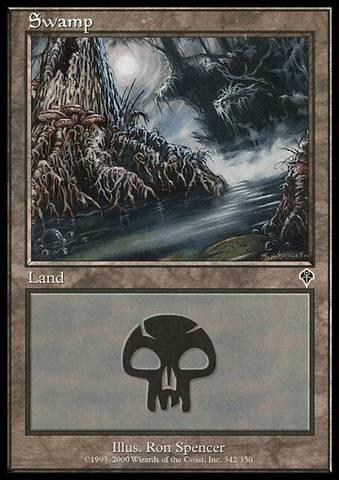 Swamp (342) - Foil