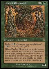Thicket Elemental - Foil
