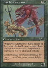Amphibious Kavu - Foil on Channel Fireball