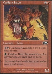 Caldera Kavu - Foil on Channel Fireball