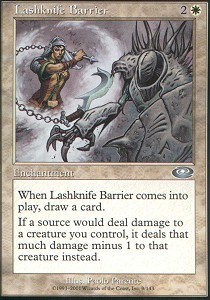 Lashknife Barrier - Foil