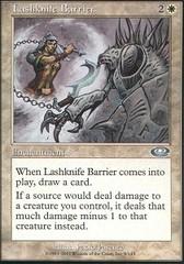 Lashknife Barrier - Foil