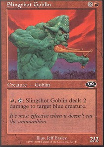 Slingshot Goblin - Foil