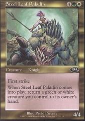 Steel Leaf Paladin - Foil