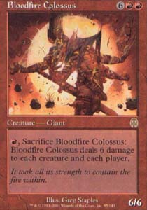 Bloodfire Colossus - Foil