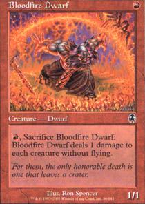 Bloodfire Dwarf - Foil