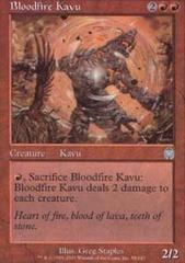 Bloodfire Kavu - Foil on Channel Fireball