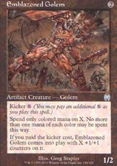 Emblazoned Golem - Foil
