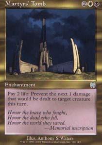 Martyrs Tomb - Foil