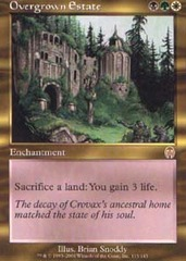 Overgrown Estate - Foil