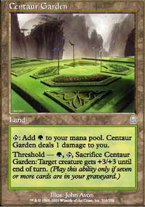 Centaur Garden - Foil