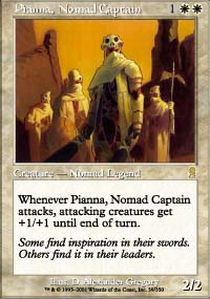 Pianna, Nomad Captain - Foil