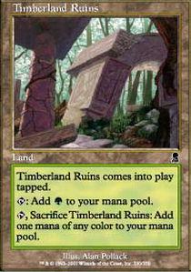 Timberland Ruins - Foil