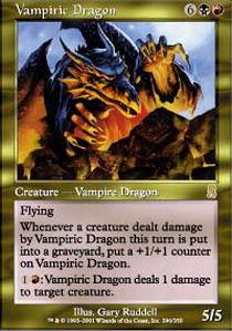 Vampiric Dragon - Foil