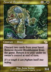 Anurid Brushhopper - Foil on Channel Fireball