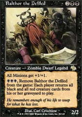 Balthor the Defiled - Foil on Channel Fireball