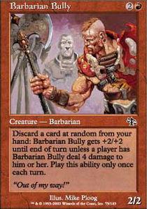 Barbarian Bully - Foil