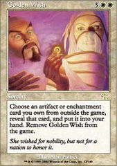 Golden Wish - Foil