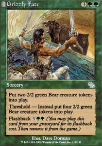 Grizzly Fate - Foil