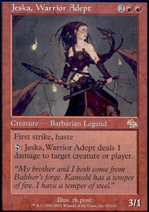 Jeska, Warrior Adept - Foil