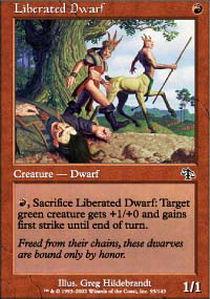 Liberated Dwarf - Foil