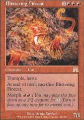 Blistering Firecat - Foil