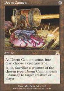Doom Cannon - Foil