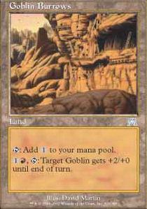 Goblin Burrows - Foil