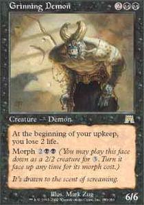 Grinning Demon - Foil