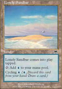 Lonely Sandbar - Foil