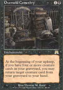 Oversold Cemetery - Foil