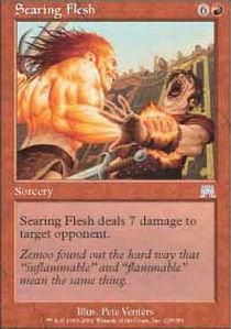 Searing Flesh - Foil