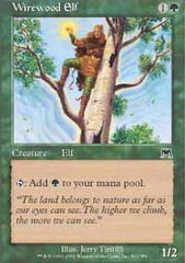 Wirewood Elf - Foil