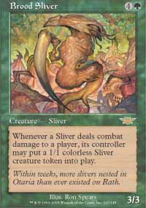 Brood Sliver - Foil
