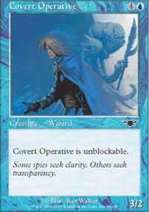 Covert Operative - Foil on Channel Fireball