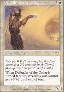 Defender of the Order - Foil