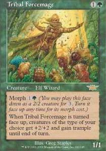 Tribal Forcemage - Foil