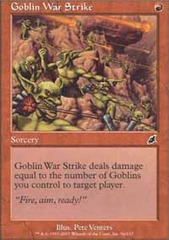 Goblin War Strike - Foil