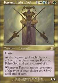 Karona, False God - Foil