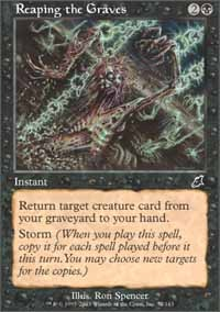 Reaping the Graves - Foil