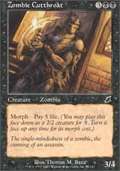 Zombie Cutthroat - Foil