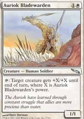 Auriok Bladewarden - Foil on Channel Fireball