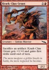 Krark-Clan Grunt - Foil