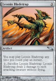 Leonin Bladetrap - Foil