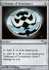 Talisman of Dominance - Foil