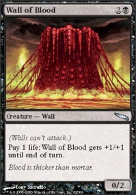 Wall of Blood - Foil